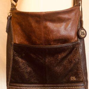 The Sak: leather cross-body bag